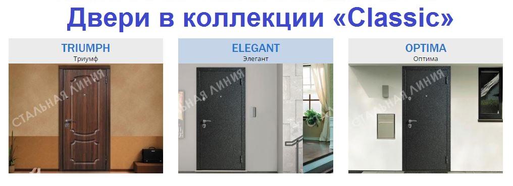Двери в коллекции «Classic»