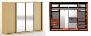 шкаф 4 дверный Смоленск